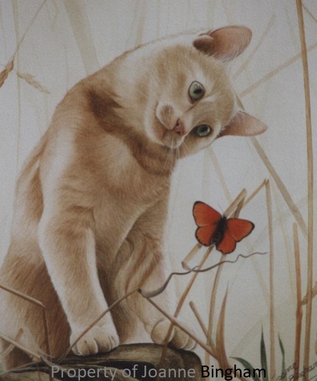 Cat 4 watercolour 2