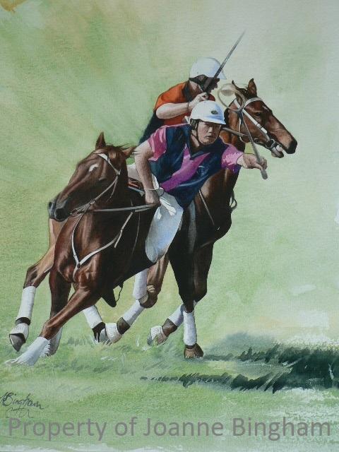 Horse 11 watercolour 10