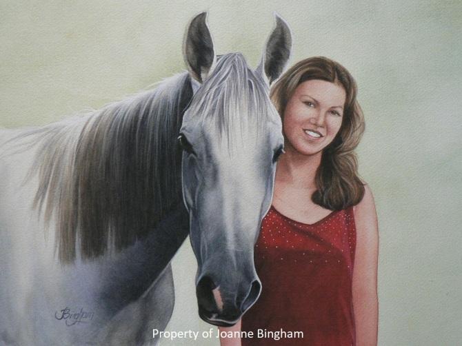 Horse 4 watercolour 3